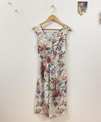 元気がいいお花のジャンパースカート3365