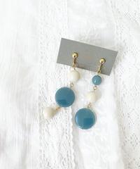 schlicht blue accessory イヤリング/ピアス