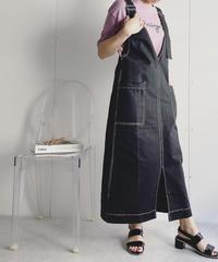 ロングベルトジャンパースカート