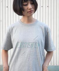 リスナーTシャツ ヘザーグレー UNISEX S〜XXL