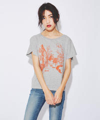 Somewhere in Berlin T-shirt (Dolman - Gray)