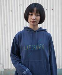 リスナーパーカー ヴィンテージネイビー UNISEX S〜XL