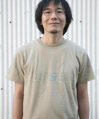 リスナーTシャツ サンドカーキ UNISEX S〜XXL
