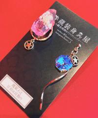 伴蔵装身具屋  魔鉱石と星屑の耳飾り 97