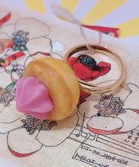 スパイス一匙 お花クッキーリング26
