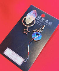 伴蔵装身具屋 魔鉱石と星屑の耳飾り 102