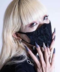 D/3/ディースリー KUMA マスク 『shichigoro-shingo×▽-3』(Black)