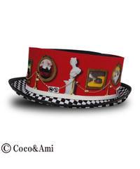 Coco&Ami/ココトアミ  HAT-3D2703RD ご試着ド〜ゾ〜(レッド)
