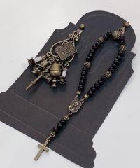 Phantom Jeweiry ロザリオと聖書のイヤリング