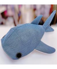 KASEI 小サメショルダーバッグ シャンブレーヒッコリー 1712-B237