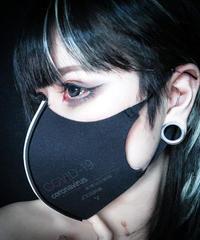D/3 / ディースリー  MS1「stop corona mask」blak× white
