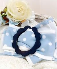 製作日和/せいさくびより  L.Dot.01 Dot ribbon clip (flower/sax)