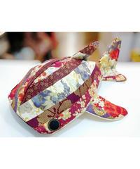KASEI/カセイ 1712-B237  小サメ ショルダー  几帳(赤)