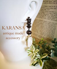 KARANSA/カランサ  KE-38 リップアイクロスイヤリング
