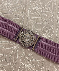 sha*lan*ra/シャランラ   スクールベルト(幅広)  SC4-5(紫)