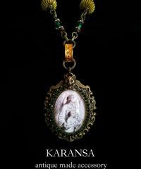 KARANSA KN-151 猫天使ガブリエルネックレス