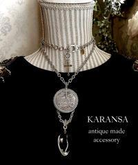 KARANSA  KN-163 《光と闇のコイン》 ネックレス