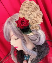 Gothic Holic ふくろう羽クリップ No,368-①