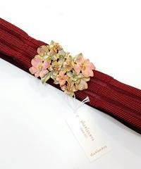 sha*lan*ra/シャランラ HT-4 花束のバックルベルト (ボルドー/GD)