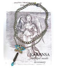 KARANSA/カランサ KN-179《サマーガーデン•蝶》ネックレス