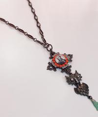 KARANSA/カランサ KN-96 中世クロス・ミミズクネックレス