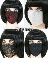 Qutie Frash ファッションマスク-メタルジャガード- 7829-AC