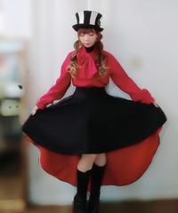 GothicHolic/ゴシックホリック  赤と黒のゴシックスカート