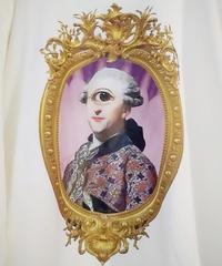 hellbent lab./ヘルベントラボ  ユニセックスロングTシャツ「サイクロプス伯爵の肖像」(Lサイズ)