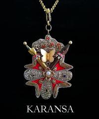 KARANSA/カランサ   KN-110  ペン先エンブレムネックレス