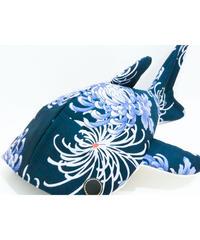 KASEI/カセイ  小サメ ショルダー 輪菊(紺)