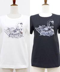 elements,H/エレメンツ,アッシュ 091719G 白鳥プリントTシャツ