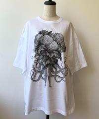 hellbent lab./ヘルベントラボ  BIGシルエットTシャツ「安治佐為ちゃん」(Lサイズ)