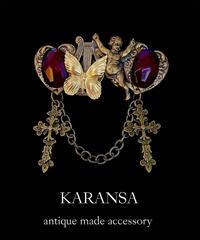 KARANSA 《天使の園》 ネックレス&バレッタ2way KN-172