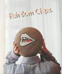 Fish Born Chips/フィッシュボーンチップス   mouse(Gray/Mサイズ)