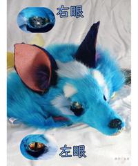 魔界ノ風鷹 K110 けものヘッドドレス(青)