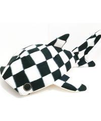 KASEI/カセイ  小サメ ショルダー フリースVer. (市松)