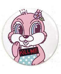 【Acryl BONES】KILLME KISS ME 缶バッヂ