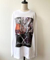 hellbent lab./ヘルベントラボ  ユニセックスロングTシャツ「来世でも。Remix」(XLサイズ)