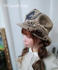 Coco&Ami/ココトアミ HAT-CR2904BG ここあみルンバ/~生豆~(ベージュ)