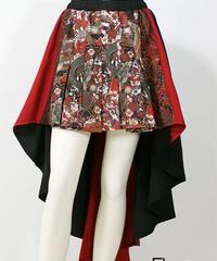 QutieFrash/キューティフラッシュ 7730-SK 後ろロングプリーツスカート