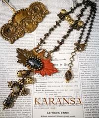 KARANSA/カランサ  KN-68  王家のスカラベネックレス