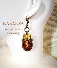 KARANSA/カランサ KP-23 ライオンインタリオピアス