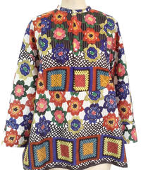 FROWER PRINT SHIRT