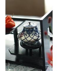 清水焼/香炉青銀