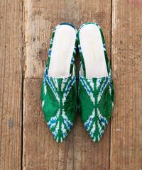 *旅するシューズ* ikat shoes