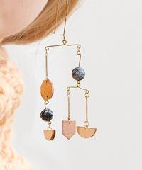 *両耳に宇宙*cosmic earrings