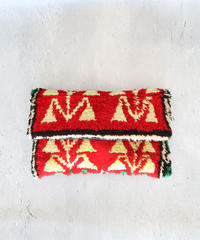 *手中のモコモコvintage*Moroccan rug bag