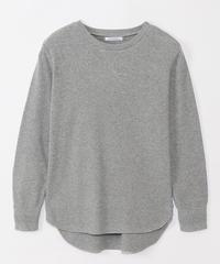 ワッフルプルオーバー長袖 lac-95059r