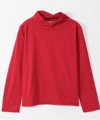 ハイゲージ天竺ねじるハイネックTシャツ      lac-95028r