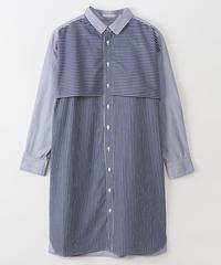 フライングヨークレギュラーロングシャツ   lab-95088k